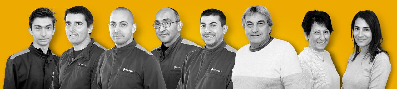 l'équipe du Garage Tosi, à votre service à Antibes depuis 1978